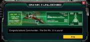 Oni-Mk2-UnlockMessage