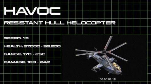 War Commander Havoc Helicopter