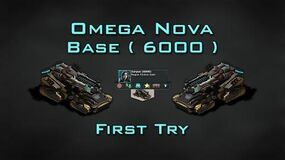 Omega Nova Boss Base ( 6000 ) First Try