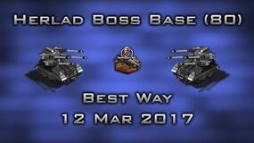 Herald Boss Base ( 80 ) Best Way 12 Mar 2017