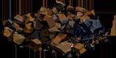 Metal Storage Destroyed