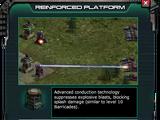 Reinforced Platform