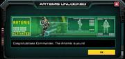 Artemis-UnlockMessage