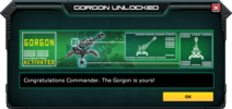 Gorgon-UnlockMessage