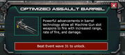 EpicTech-OptimizedAssultBarrel-EventShopDiscription