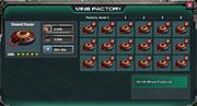 In mine factory menu