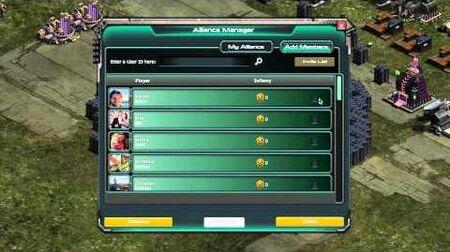 War Commander Alliances