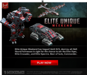 Elite-Unique-Weekend-Email