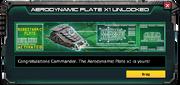 AerodynamicPlate-UnlockMessage