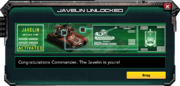 Javelin-UnlockMessage
