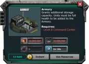 Armory-Requirement