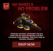 No Wheels No Problem Hover Tank Commander HTC War Commander