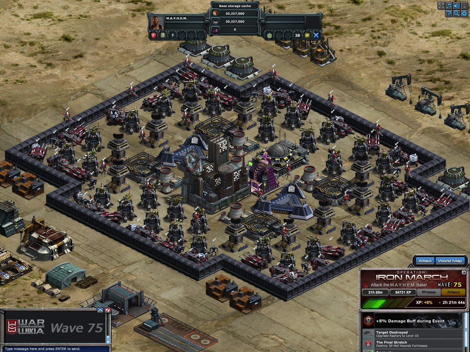 War commander sentinels 75 prizes for adults