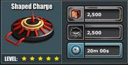 Shaped charge