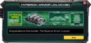 HyperionArmor-UnlockMessage