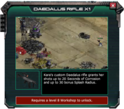 Daedalus Rifle - Event Store Description