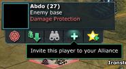 Invite Player To Alliance