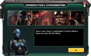 Crossfire-PreAttackWaveMessage