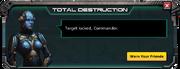 Deadeye Missile - Level 5 Message