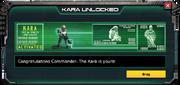 Kara-UnlockMessage