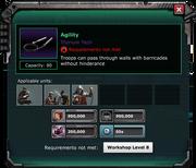 InfantryTraining Agility