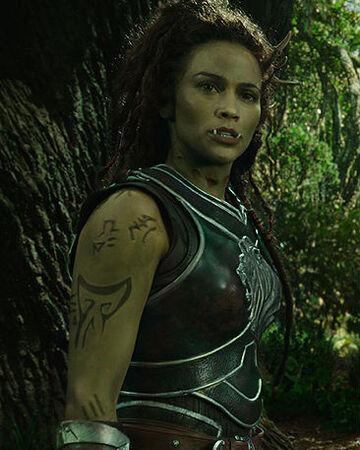 Garona Halforcen Warcraftfilms Wikia Fandom