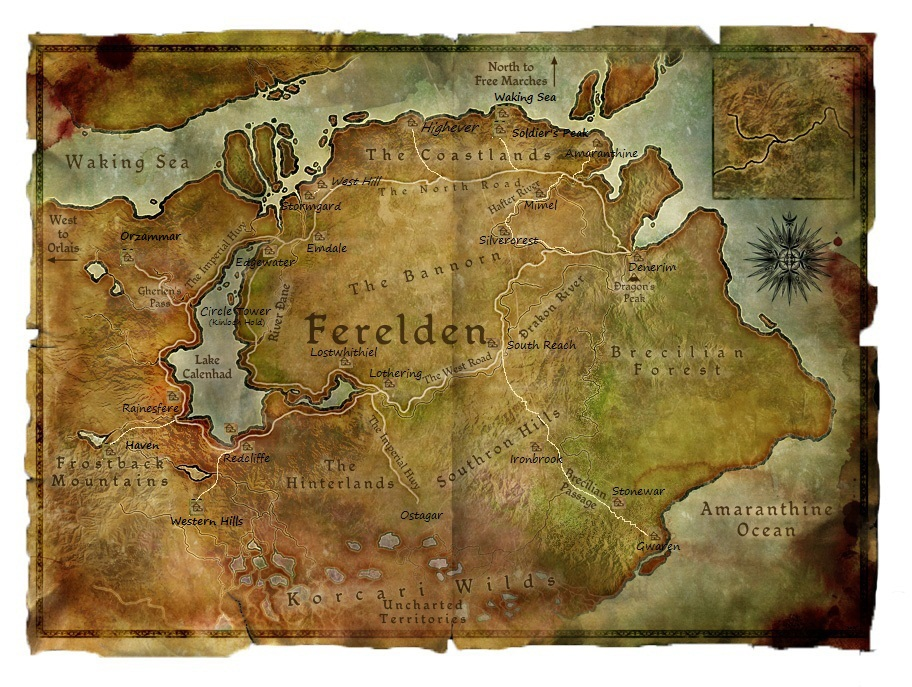 Ferelden Distances | Warden's Vigil Wiki | FANDOM powered by Wikia