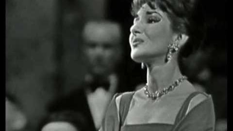 Maria Callas - L'amour est un oiseau rebelle - Habanera - Carmen - Bizet