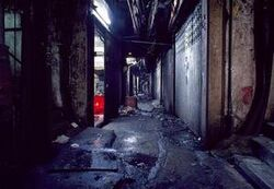 Alleyway from Kowloon Walled City