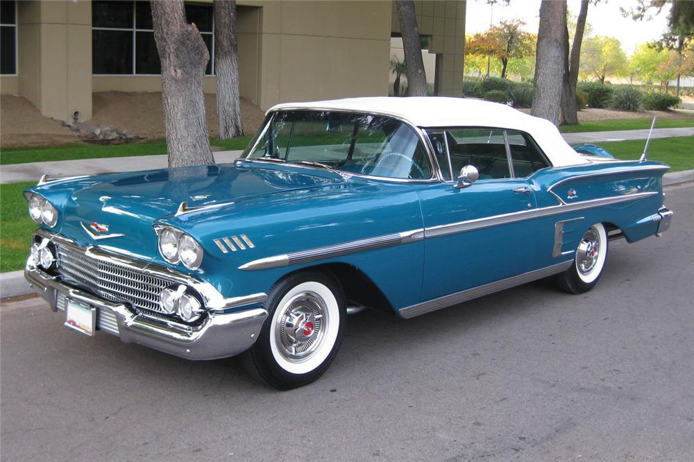 Joseph Valachi's '58 Chevrolet Impala | Warehouse 13 Artifact ...