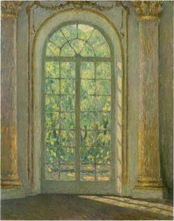 Henri Le Sidaner's The Door of Spirit