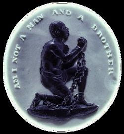 Antislavery medallion large