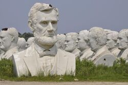Gutzon Borglum's Presidential Busts