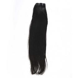 Straight hair strands