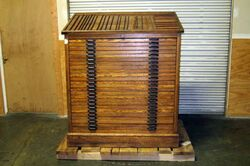 Movable type cabinet