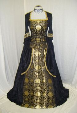 Dress french 1300s