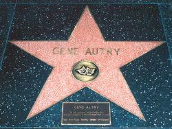 Gene Autry's Hollywood Star