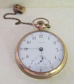 Alexander Herrmann's Gold Watch