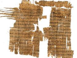 Homer's Scrolls