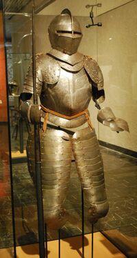 Armor spanish 1600s