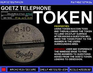 Goetz Telephone Token