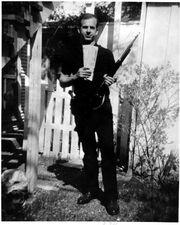 Oswald w- rifle