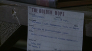 The Golden Rope