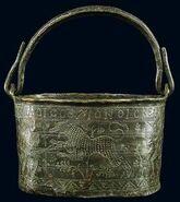 Bucket insciption