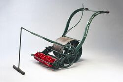 Patented lawnmower
