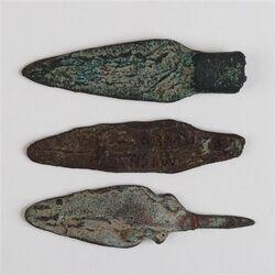 Copper arrowheads
