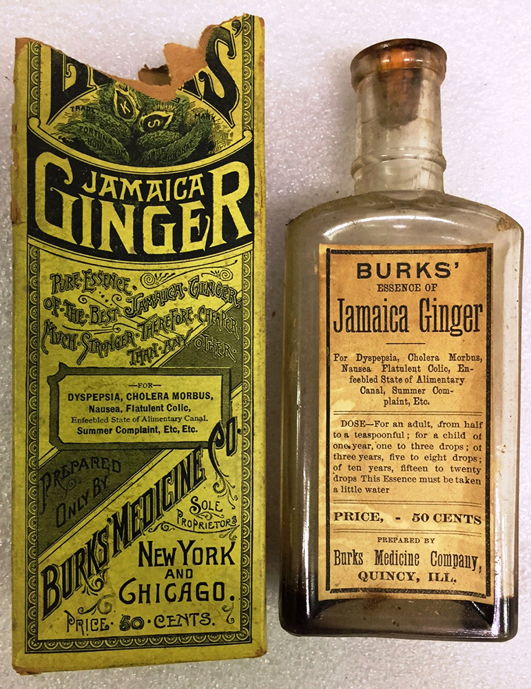 Jamaica Ginger Bottle Warehouse 13 Artifact Database