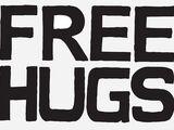 Kevin Zaborney's FREE HUGS Sign