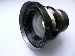 Camera lens speed graphic