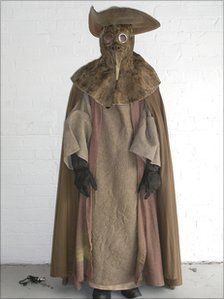 Plague doctor clothing